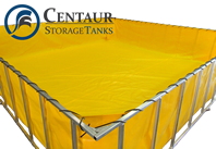 Oil spill containment tanks
